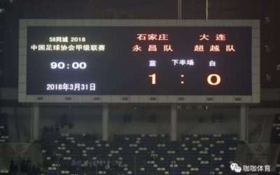 Shijiazhuang Ever Bright F.C. 1-0 Dalian Transcendence F.C.